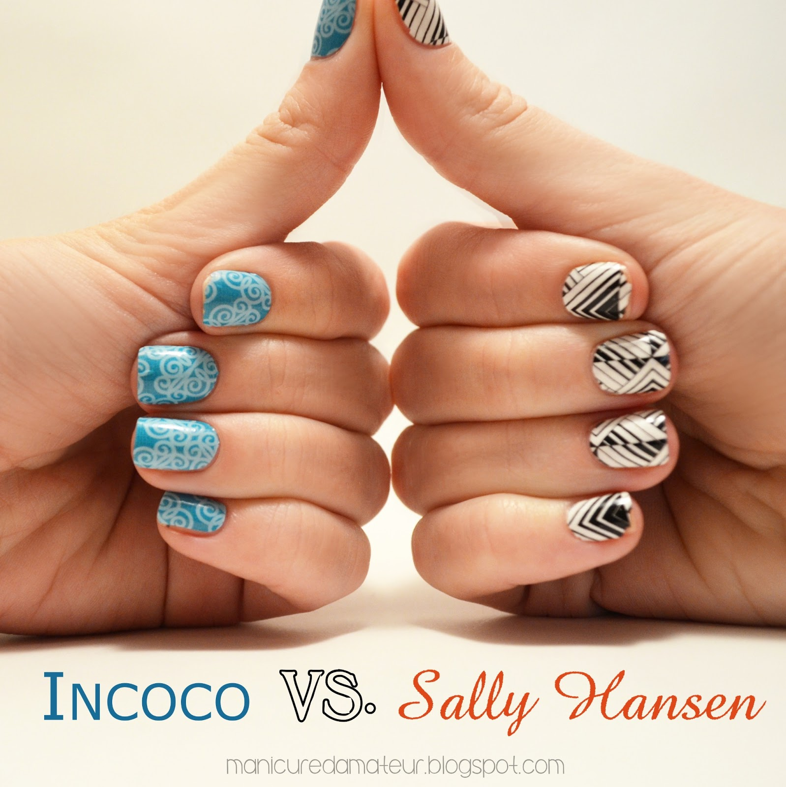 The Manicured Amateur: Polish Strip Showdown! Incoco Nail ...