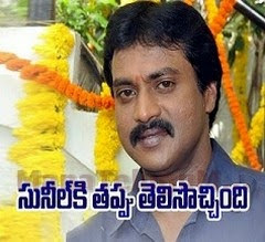 Producers in dilemma over movie with Sunil