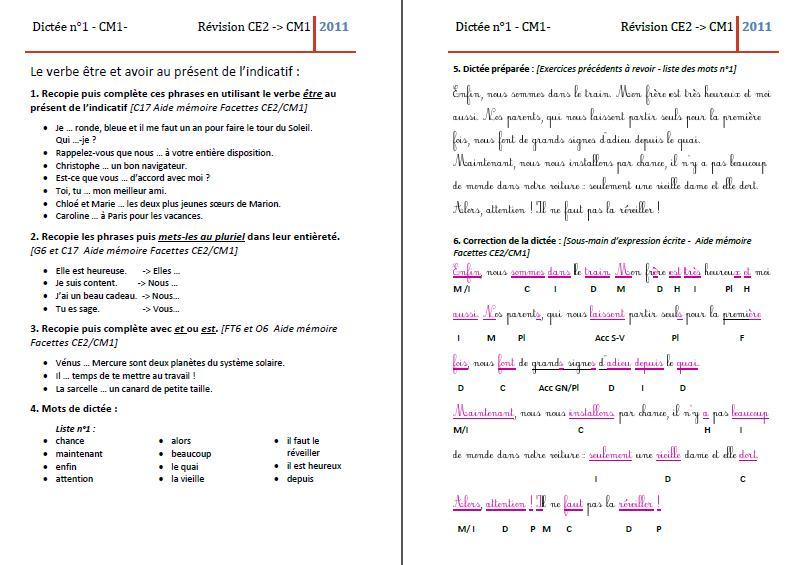 Favori La classe de Mme C.: Entrainements en français et en mathématiques AX21