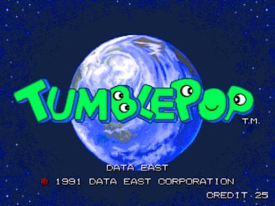 抓鬼大師(Tumble Pop)+金手指作弊碼,超懷舊的吸鬼動作闖關遊戲!