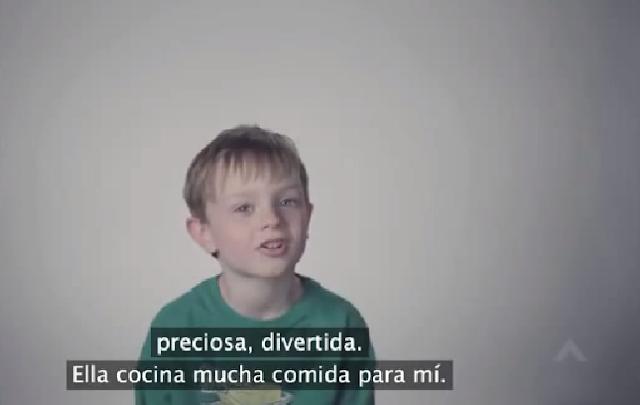 video lo que dicen los niños de su mami