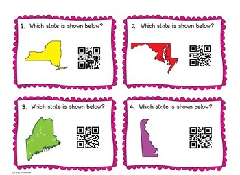 http://www.teacherspayteachers.com/Product/Fifty-Nifty-United-States-QR-Code-Scoot-6-Ways-to-Review-1232906