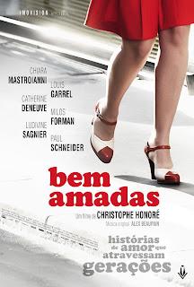 """Cartaz brasileiro do filme francês """"Bem Amadas"""""""