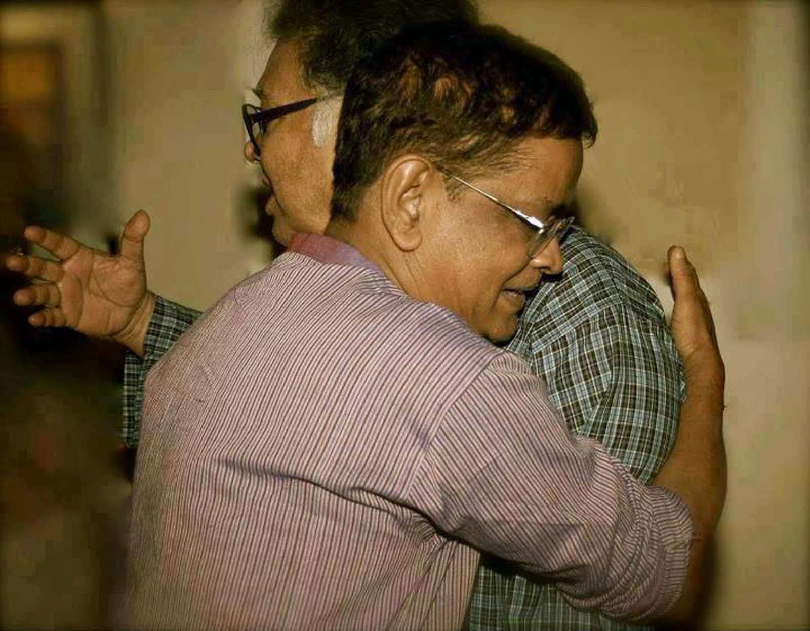 Humayun Ahmed and Sunil Gangopadhyay