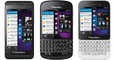 Blackberry Terbaru Z10, Q10, Q5