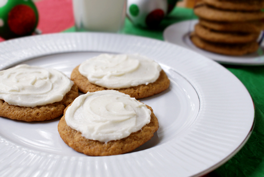 In a large mixing bowl, beat the cream cheese, butter, confectioners ...