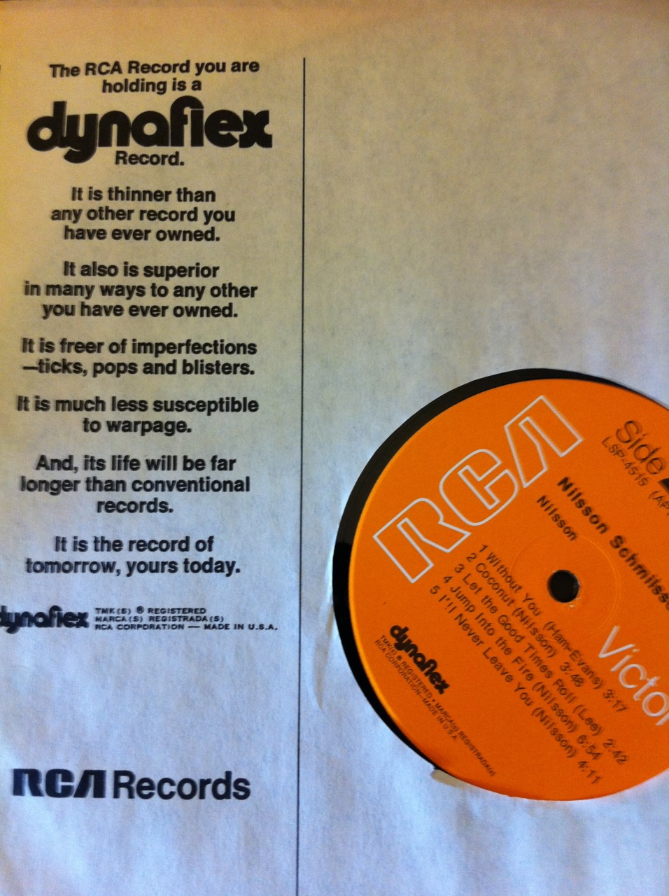 Orange pop records s profile hear the world s sounds - To Me Dynaflex Had It S Good And Bad It Was Quieter Even After 40 Years Many Of My Old Dynaflex Albums Still Have Very Little Surface Noise