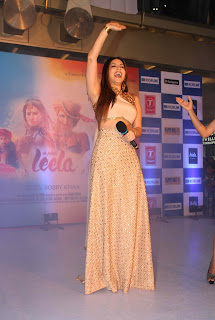 Sunny Leone Latest Pictures in Long Dress at Ek Paheli Leela Promotions ~ Celebs Next