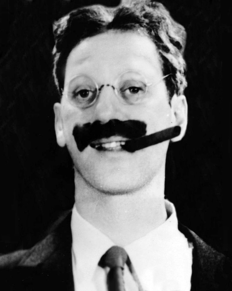Celebs Without Eyebrows Groucho Marx