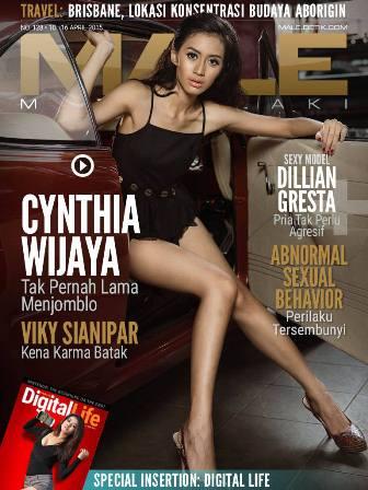 Download Gratis Majalah MALE Mata Lelaki Edisi 128 Cover Model Cynthia Wijaya MALE Mata Lelaki 128 Indonesia | Cover MALE 128 Cynthia Wijaya - Membuka Diri, Bukan Hati | www.insight-zone.com