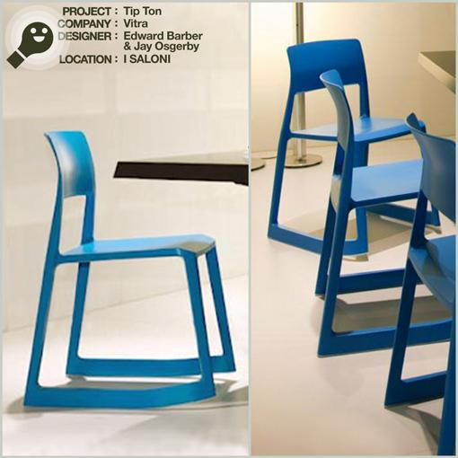 (chair - sedia) TIP TON - VITRA - EDWARD BARBER & JAY OSGERBY - I SALONI 2011