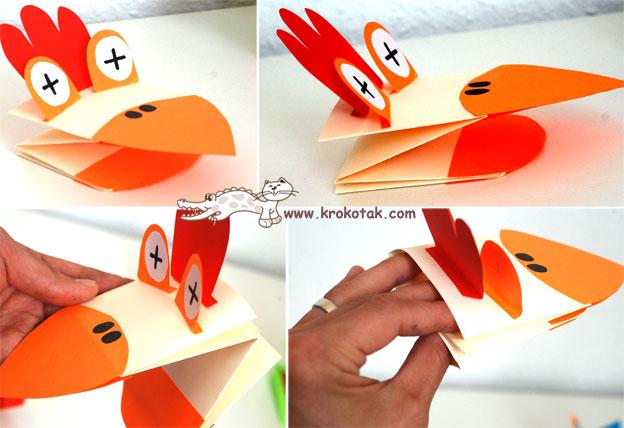 Как сделать игрушку для ребенка из бумаги