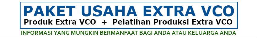 Paket Usaha Extra VCO