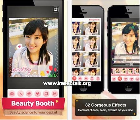 Dale un toque magico a tu rostro con Beauty Booth for Kakao