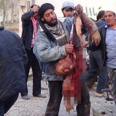 Kekejaman askar syiah  Bashar Al Assad