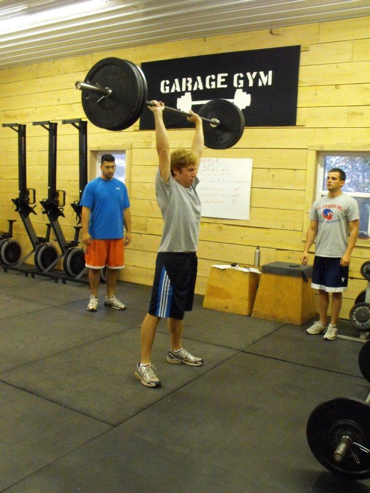 Garage gymclient highlight brendan cotter garage gym