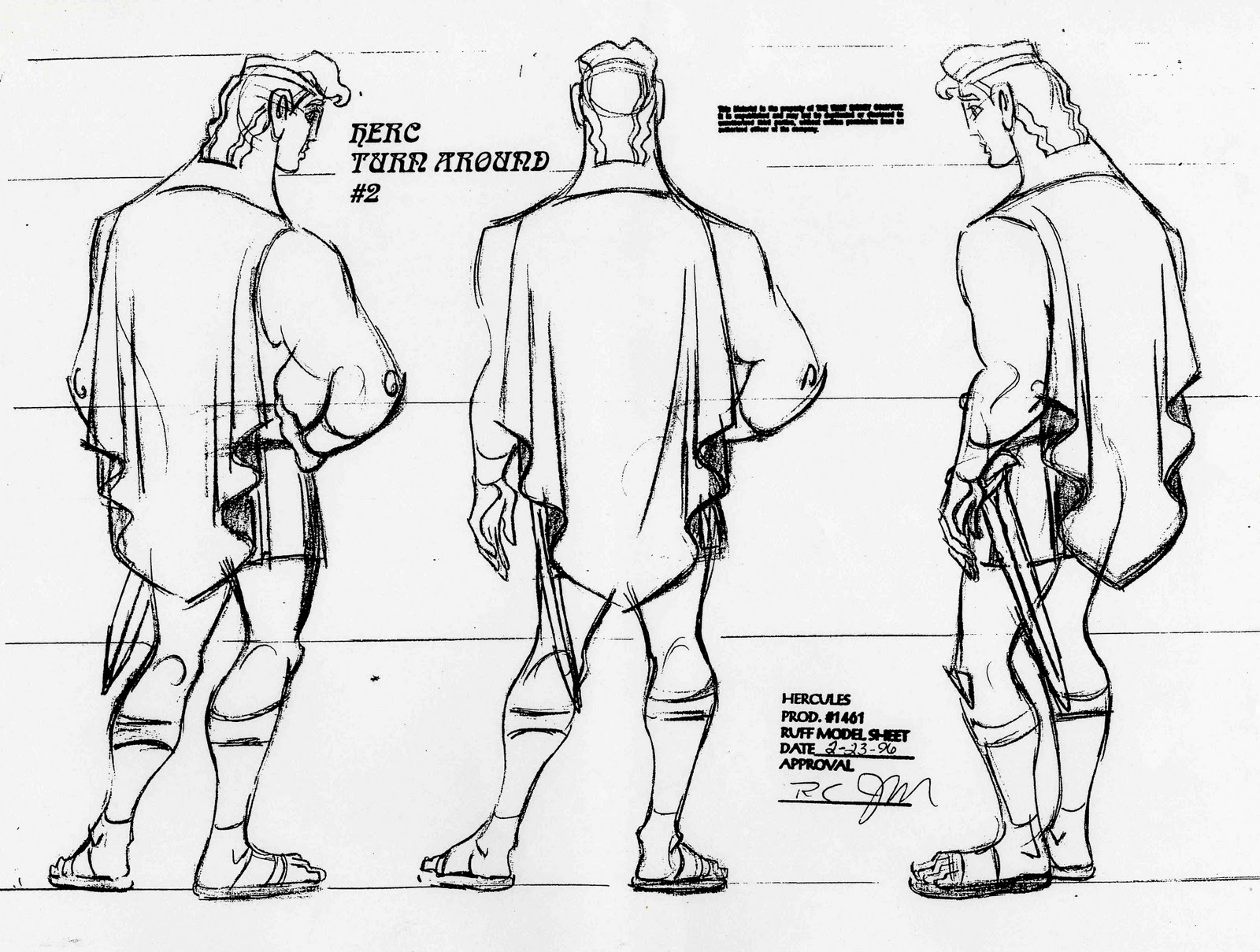 Character Design Library : Cartoon concept design character notes model