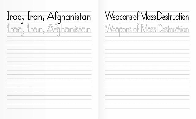 Handwriting Practice Templates