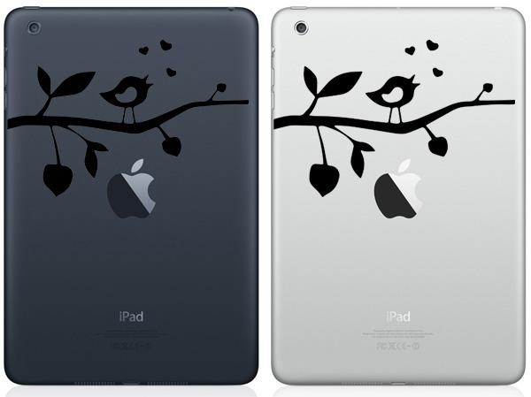 Lovebird iPad Mini Decals