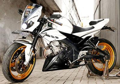 Modif Yamaha Bison Street Fighter