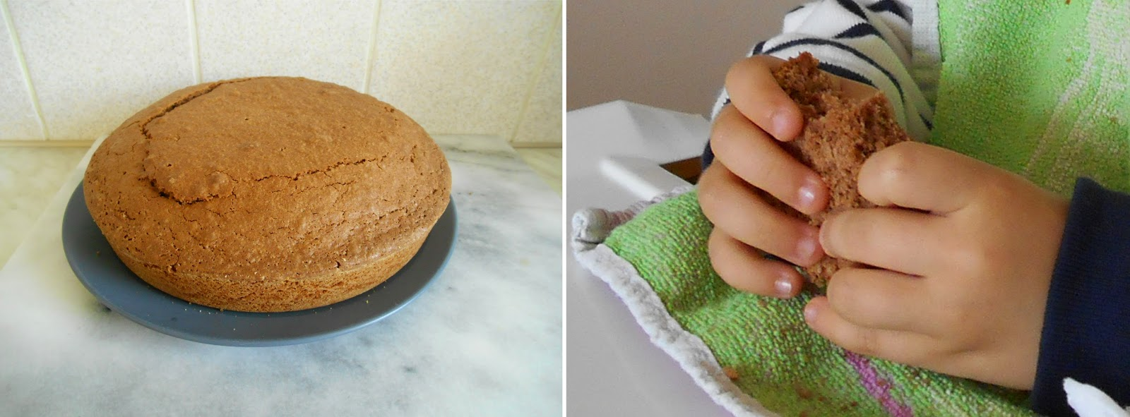 Gâteau au chocolat sans peser