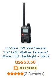 Walkie-Talkie Bargains