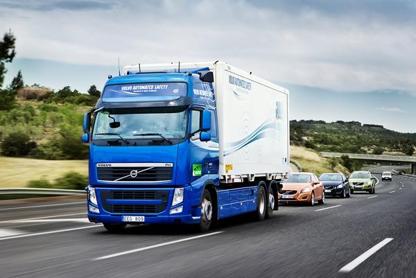 Volvo ездит без водителя