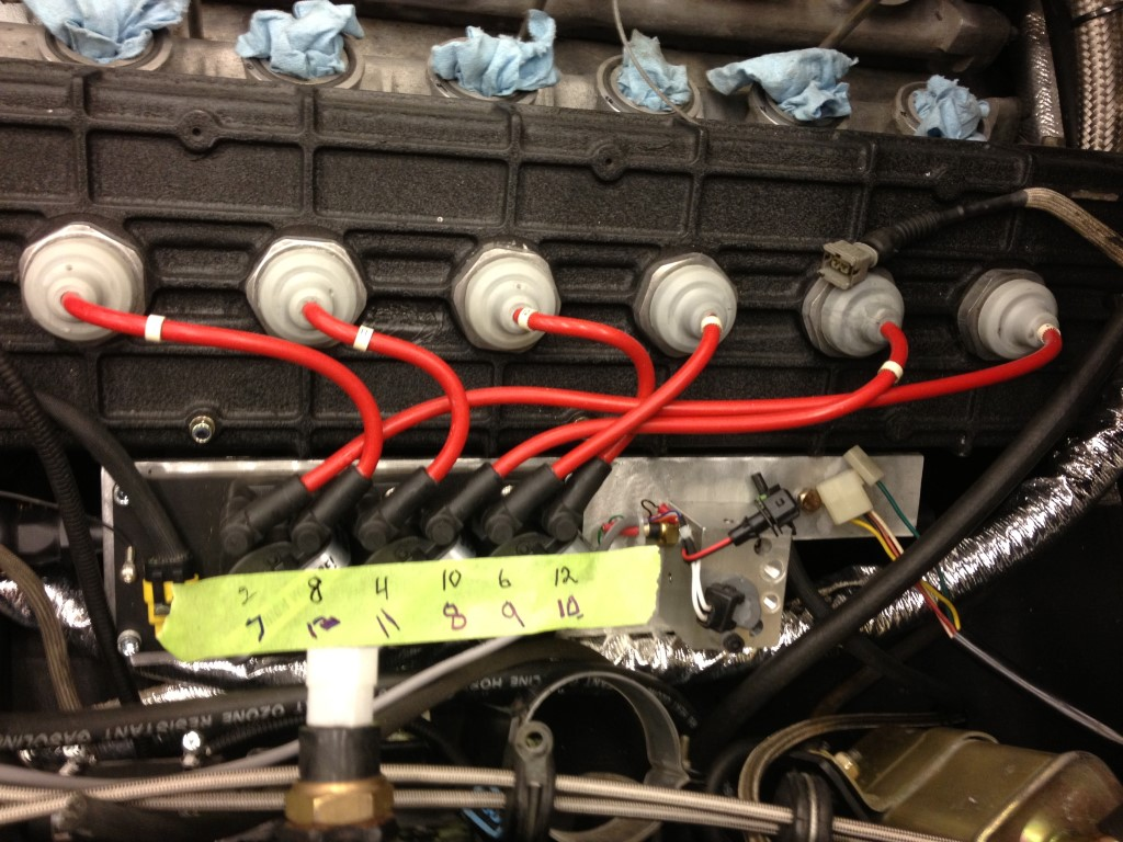 Custom Countach Spark Plug Wires