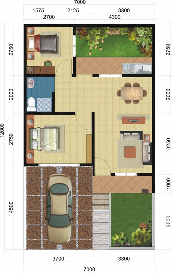 desain rumah type 45 smarthouse desain rumah idaman