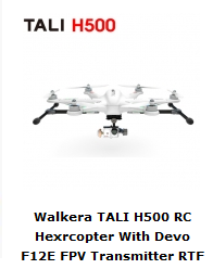 TALI H 500 Walkera Pronto al Volo - Banggood Shop