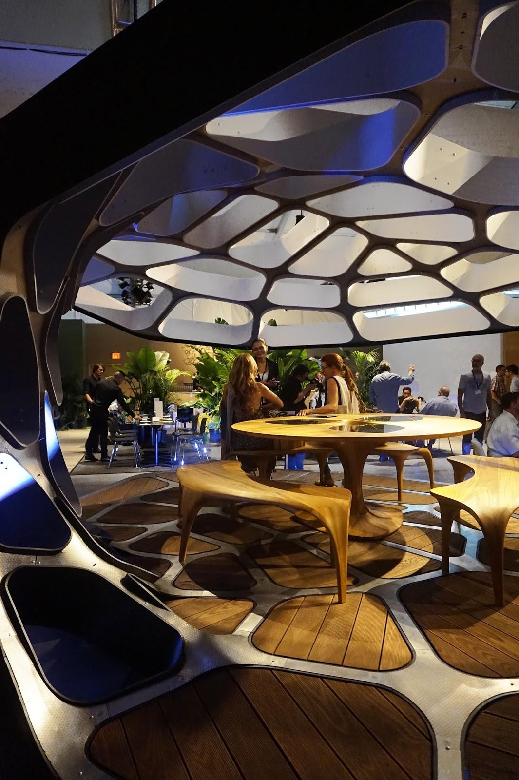 Dining Pavilion by Zaha Hadid