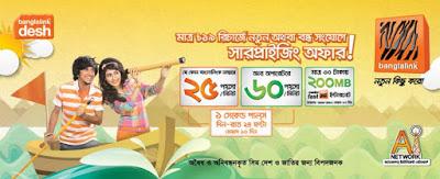Banglalink Bondho SIM Offer [New]