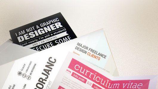 Graphic Design Curriculum Vitae/ Resume