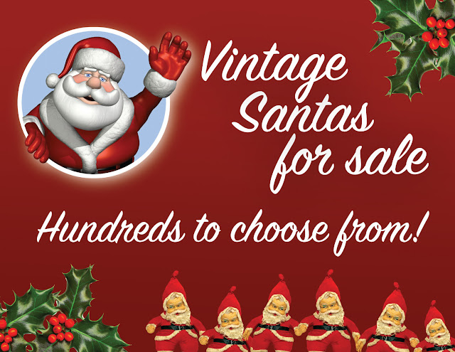 vintage santa, vintage christmas, consignment shop new haven, consignment ct, Furniture sale