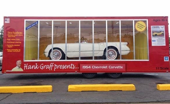 Hank Graff's Life-Sized 1954 Corvette In A Box