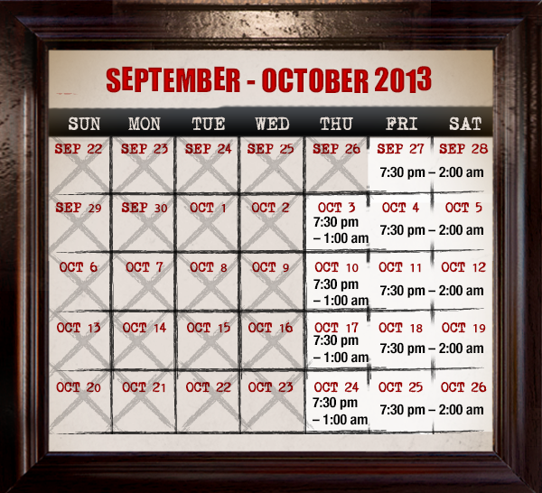 Fright Bites Tickets Are Now On Sale For Busch Gardens 39 Howl O Scream 2013