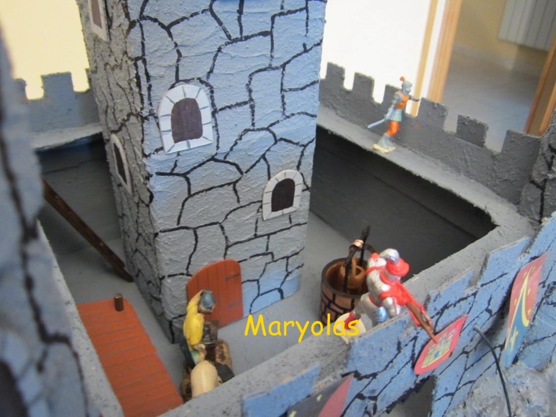Maryolas maqueta de castillo medieval - Manualidades castillo medieval ...
