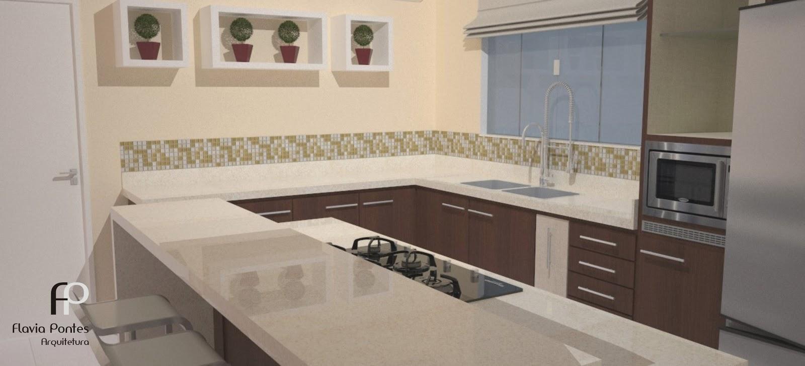 Cozinha Toda Branca Com Ilha Beyato Com V Rios Desenhos Sobre