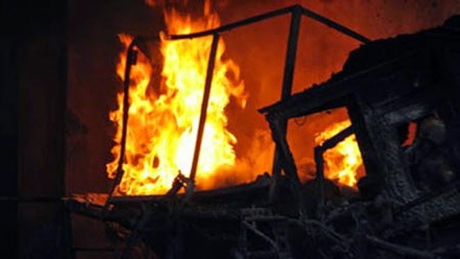 TP. Pleiku: Trộm xong phóng hỏa