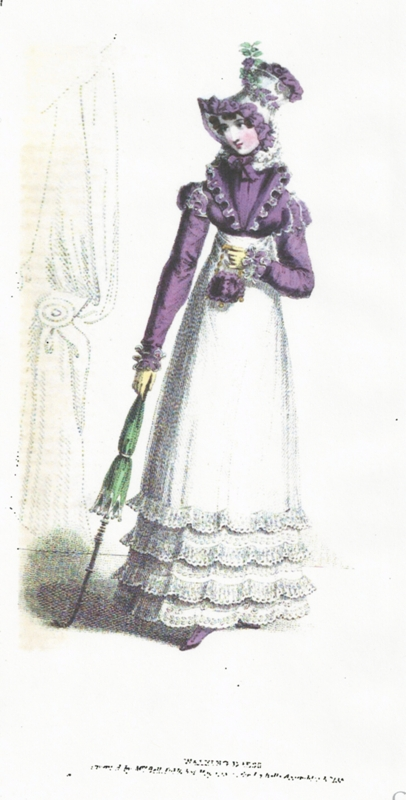 MAY 1820 EXPLANATION OF THE PRINTS OF FASHION FRENCH No 1 Ball Dress