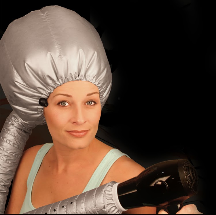Hair Dryer Hood ~ Via whitesandsproducts