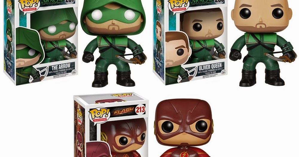 Flash TV Series Pop! Vinyl Figure - GeekAlerts