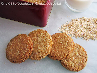 grancereale biscotti crusca avena ricetta cosabloggainpentola