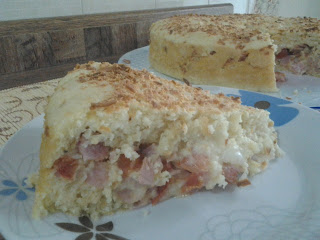Torta de presunto com pimenta