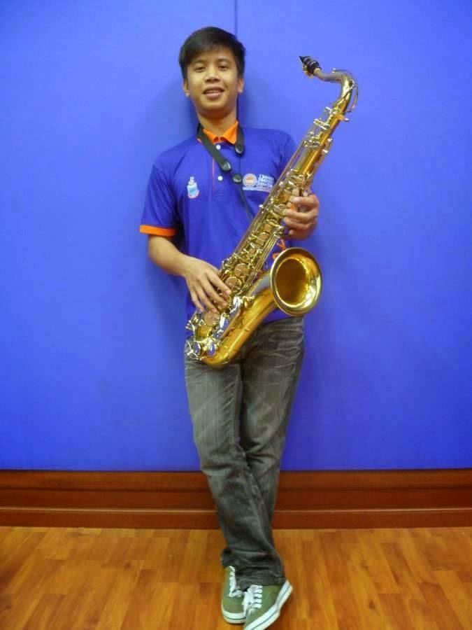 i'm saxophonist