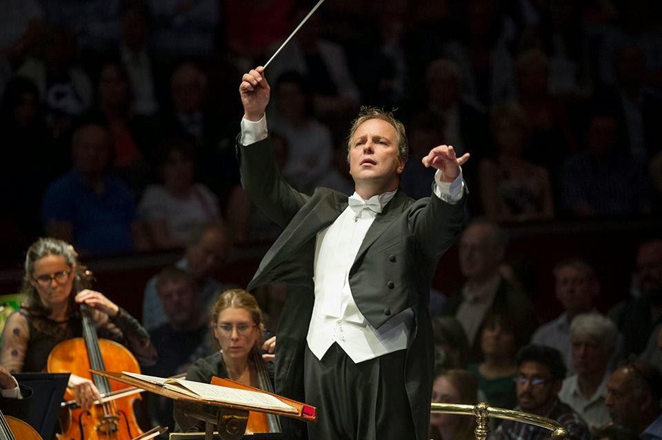 Sakari Oramo conducting the BBC Symphony Orchestra - © BBC/Sim Canetty-Clarke