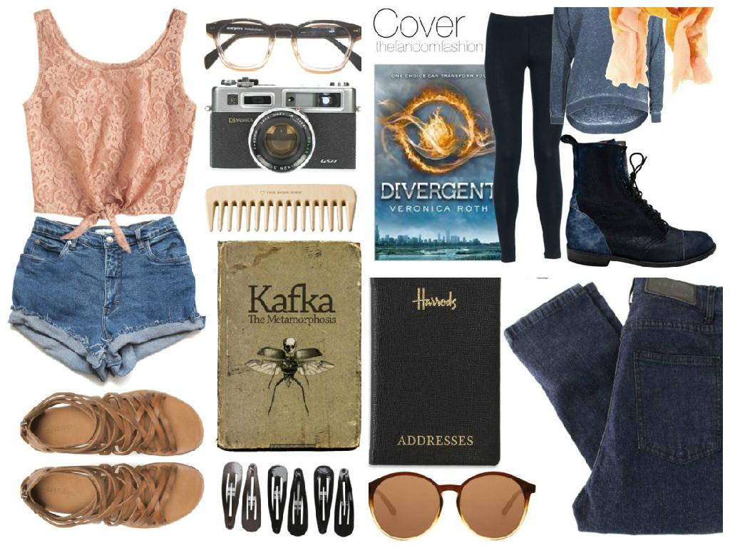 Outfits para lectores y escritoras, look de lectores, book, Outfits vintage