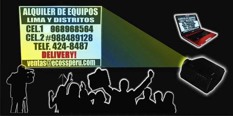 ALQUILER DE EQUIPOS PARA EVENTOS