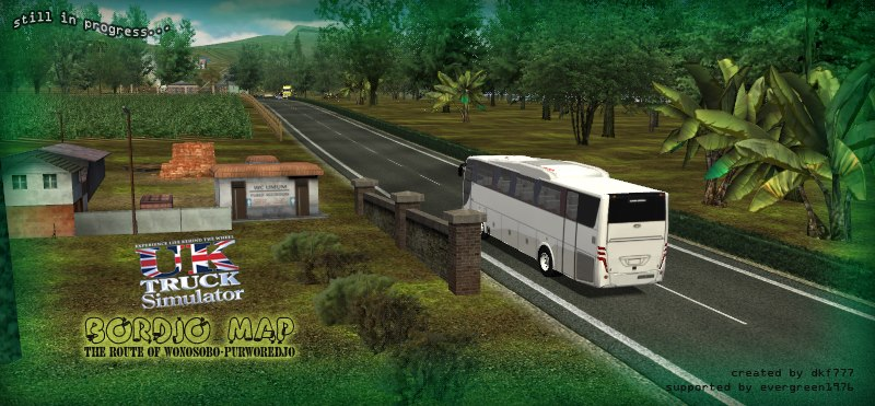 update kumpulan mod uk truck simulator indonesia