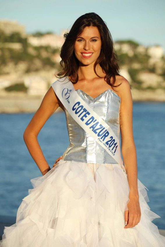 Miss Cote d'Azur-Charlotte Murray
